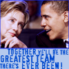 Obama and Hillary love