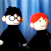 Harry & Ron Puppets