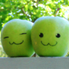 (●´┏_┓`●): art/ apples