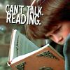 reading, do not disturb