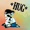 Kathy: InuKai hug