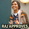 Ex Astris, Scientia: Raj approves!