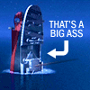 women's lasers: titanic - big ass