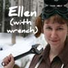 ellen with wrench