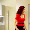 Zosia: House: Cuddy in red