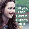 Lady Manson: twilight - edward cullen's child
