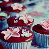 cupcakecrusaders : flower cupcake