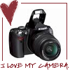 camera i heart, camera: powershot g5, my camera, camera, photography