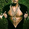 cross on chest