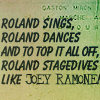 DT: roland stagedance