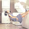 Ueto Aya - laundry boredom