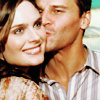 Bones - D kisses E's cheek