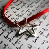 red ribbion star