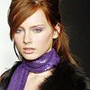 [Model] Ilze Bajare scarf