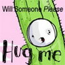 hug, cute, cactus