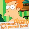 Futurama: Fry proved them