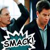 cosmic: NCIS: Gibbs/DiNozzo smack