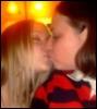 amber backlit kissyface