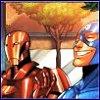 Rusalka: Comics: happy Cap and Tony