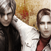 Mercy: [Biohazard D.] Leon/Claire - red