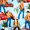 sexy - shirtless cowboys