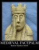 medieval facepalm