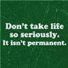 Not Serious, Life's Not Permanent