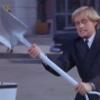 Illya Kuryakin - spy with a spade!