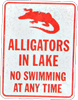 alligators in lake