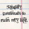 anti-reality
