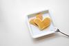 Gowl: heart pancakes