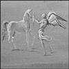 ангел и лошадь