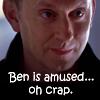 meegat: Ben S5 amused oh crap