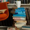not your little girl: stack of books