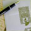 hand written letter writer