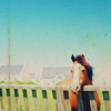 stock: horse and fence