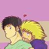 eide_oconrad: [Captain Tsubasa] Genzo&Karl <3