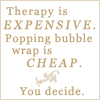 Miss Kat: Bubble wrap therapy :: unknown