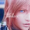 {{♥ aclara ♥}}: like a fantasy ~ Lightning > Final Fanta