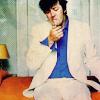 Stephen Fry smoking