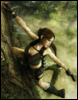 Lara Croft: Hanging in there