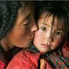 люди, костюмы, красоты и архитектура Тибета