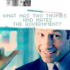 she's plucking hours from the sky: Mulder
