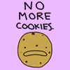 can't talk busy emoing | no more cookies