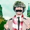 John Oliver plus moustache