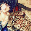birde of the water god - mui with leopar