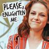 Alexa: 'enlighten me'-- Kristen Stewart