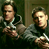 Late Night Drops of Random: Dean and Sam with guns