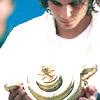 [Tennis] Nadal looking at trophy