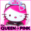 [Hello Kitty] Queen Of Pink